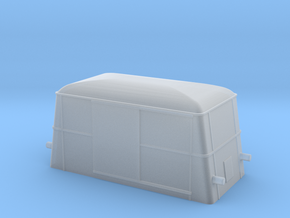 Swedish wagon for railcar UF2 N-scale in Smooth Fine Detail Plastic