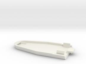 Futaba Magnum Junior T2PB Triangle Battery Cover R in White Natural Versatile Plastic