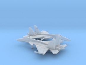 050D Sukhoi Su-33 Flanker 1/400 pair in Smooth Fine Detail Plastic