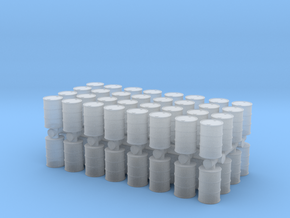 Oil Barrel (x64) 1/285 in Smooth Fine Detail Plastic
