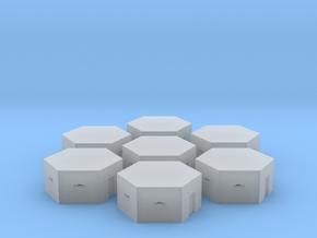 British Type 22 pillbox 1:300 / 6mm wargame in Smooth Fine Detail Plastic