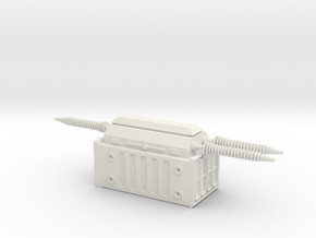 Electrical Transformer 1/87 in White Natural Versatile Plastic