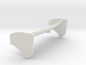 Wing Heckflügel V2 Jomu in White Natural Versatile Plastic