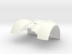 THM 80.702000 Fender Peterbilt 281 in White Processed Versatile Plastic