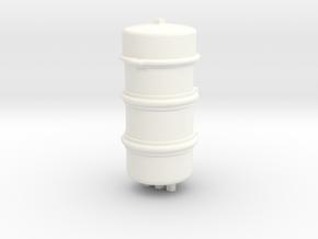 THM 80.706000 Airtank Peterbilt 281 in White Processed Versatile Plastic