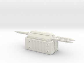 Electrical Transformer 1/144 in White Natural Versatile Plastic