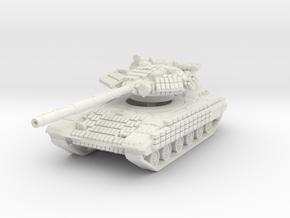 T-64 BV 1/100 in White Natural Versatile Plastic