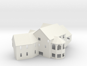 New England House - Zscale in White Strong & Flexible