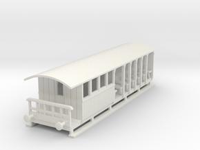 o-87-corringham-toastrack-composite-coach in White Natural Versatile Plastic