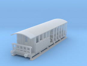 o-148fs-corringham-toastrack-composite-coach in Smooth Fine Detail Plastic