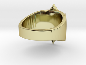 Sabaton Ring (male) in 18K Gold Plated