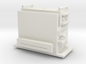 1/87 AHHL Pump Section (UPDATED) in White Natural Versatile Plastic