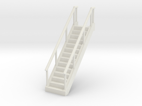 Stairs 1/64 in White Natural Versatile Plastic