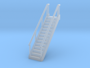 Stairs 1/160 in Smooth Fine Detail Plastic