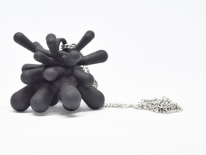 EN!GMA PENDANT in Black Natural Versatile Plastic