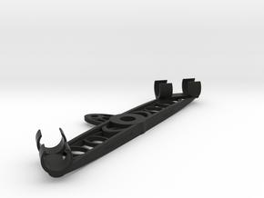 20mm NOS Stereo Mic Clip in Black Natural Versatile Plastic