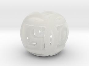 Ball Die in Smooth Fine Detail Plastic