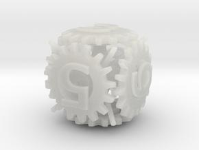 Gear Die in Smooth Fine Detail Plastic