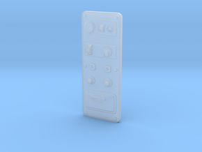 switchpanel-1to16 in Smooth Fine Detail Plastic