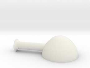 steampunk chimney 2  in White Natural Versatile Plastic