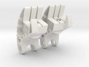 SID_LotT_006 Skyrim: Legend of the Toa Bionicle in White Natural Versatile Plastic
