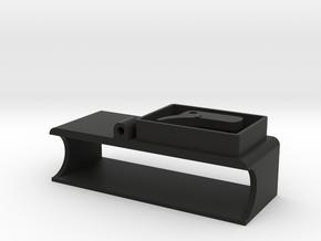GLA 450mah battery holder in Black Natural Versatile Plastic