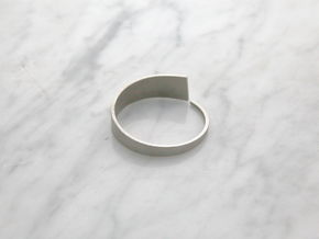 Tides bracelet in Polished Nickel Steel: Extra Small