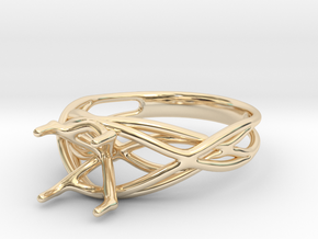 Bliss - Wedding/Engagement ring in 14K Yellow Gold