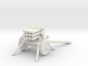 Type 63 107mm MLR 1/72 in White Natural Versatile Plastic