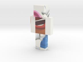 Mr_Potato_Head-2 | Minecraft toy in Glossy Full Color Sandstone