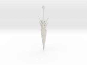 Mythra's aegis in White Natural Versatile Plastic
