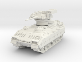 M2A1 Bradley (TOW raised) 1/72 in White Natural Versatile Plastic