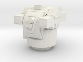 NM142 TOW Turret 1/87 in White Natural Versatile Plastic
