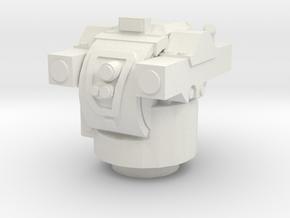 NM142 TOW Turret 1/72 in White Natural Versatile Plastic