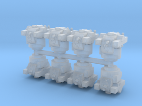 NM142 TOW Turret (x8) 1/285 in Smooth Fine Detail Plastic