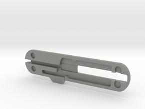 74mm Victorinox pen scale in Gray PA12