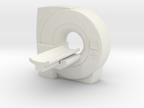 MRI Scan Machine 1/35 in White Natural Versatile Plastic