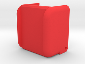 MP-01 Back Cover in Red Processed Versatile Plastic