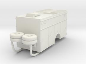 1/64 Sutphen Ohio Heavy Rescue Body compartment do in White Natural Versatile Plastic