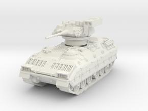 M3A1 Bradley (TOW raised) 1/76 in White Natural Versatile Plastic
