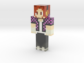 Xing_Jane_New_skin_ring | Minecraft toy in Glossy Full Color Sandstone