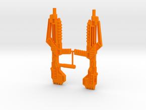 Optimal Op gun in Orange Processed Versatile Plastic