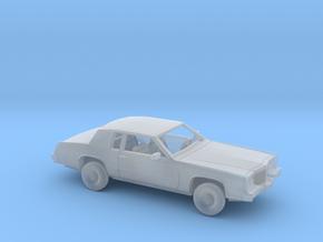 1/87 1979-83 Cadillac Eldorado Convertible Kit in Smooth Fine Detail Plastic