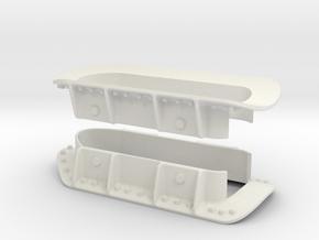 1.6 SUPPORTS DE STAB EC 145 EC 135 in White Natural Versatile Plastic