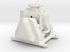 1/6 RADAR RADOME 1 EC 145 in White Natural Versatile Plastic