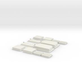 1.6 MARCHE PIED EC 145 FULL in White Natural Versatile Plastic