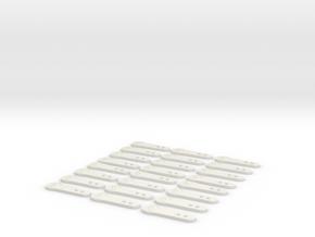 1.6 CHARNIERES CAPOT EC 145 X24 in White Natural Versatile Plastic