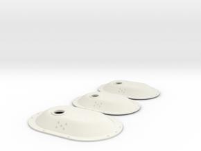 1.6 BOSSELAGE INF EC 145  X3 in White Natural Versatile Plastic