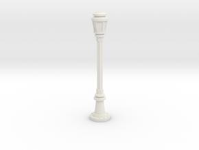 City Lamp Post 1/35 in White Natural Versatile Plastic