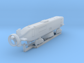 Advanced SEAL Delivery System, 1/192 scale in Smooth Fine Detail Plastic
